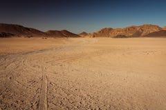 Deserto del Sahara nell'Egitto Immagine Stock