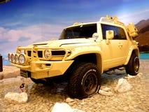Deserto dell'incrociatore di Toyota FJ Immagine Stock Libera da Diritti