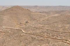 Deserto della ghiaia, Tunisia Immagine Stock