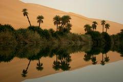 Deserto della Libia Immagini Stock
