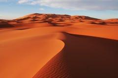 Deserto della sabbia Fotografia Stock Libera da Diritti