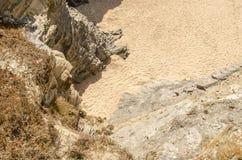 Deserto della sabbia Immagine Stock Libera da Diritti