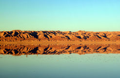Deserto della Tunisia immagini stock