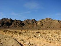 Deserto di Arava Fotografia Stock