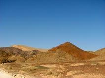 Deserto di Arava Immagini Stock