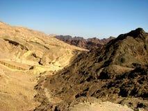 Deserto di Arava Fotografie Stock