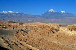 Deserto di Atacama fotografia stock