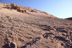 Deserto di Atacama, Cile fotografie stock