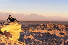 Deserto di Atacama nel Cile Immagine Stock