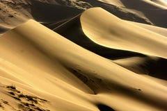 Deserto di Badain Jaran Fotografie Stock Libere da Diritti