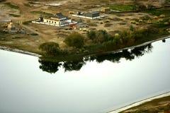 Deserto di Badain Jaran Immagini Stock Libere da Diritti