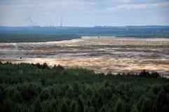 Deserto di Bledow, Polonia Immagini Stock Libere da Diritti