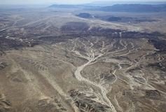 Deserto di California Fotografie Stock