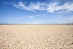 Deserto di California Immagini Stock