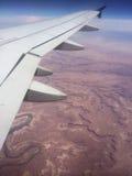 Deserto di Grand Canyon dal cielo Fotografie Stock
