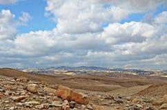 Deserto di Judaean Fotografia Stock