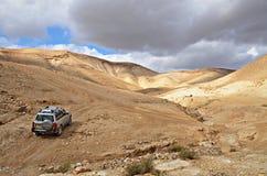 Deserto di Judaean Fotografie Stock