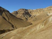 Deserto di Judean Immagini Stock