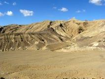 Deserto di Negev Immagini Stock