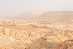 Deserto di Negev Fotografia Stock Libera da Diritti