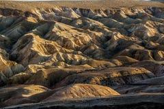 Deserto di Negev al tramonto immagine stock libera da diritti