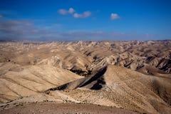 Deserto di Negev nell'Israele Fotografie Stock Libere da Diritti