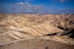 Deserto di Negev nell'Israele Fotografia Stock Libera da Diritti