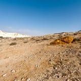 Deserto di Negev nell'Israele Fotografia Stock
