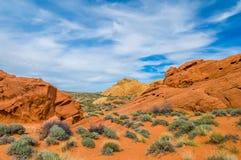Deserto di pietra Fotografia Stock