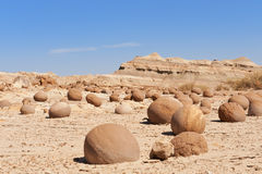 Deserto di pietra in Ischigualasto, Argentina. Immagine Stock