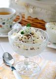 Deserto di ?ream (gelato) Immagini Stock