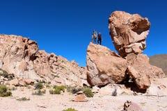 Deserto di Salar de Uyuni Fotografia Stock Libera da Diritti