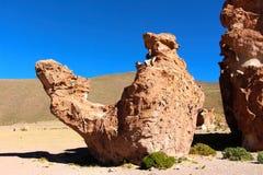 Deserto di Salar de Uyuni Fotografia Stock