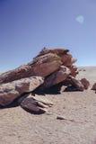 Deserto di Siloli Fotografie Stock