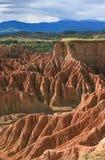 Deserto di Tatacoa Fotografie Stock Libere da Diritti