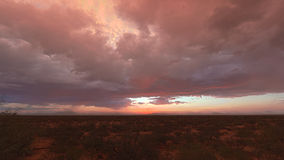 Deserto di tramonto fotografie stock libere da diritti