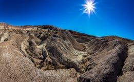 Deserto dipinto Fotografie Stock