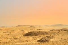 Deserto do Cairo, Egito fotografia de stock