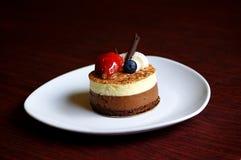 Deserto do chocolate Imagens de Stock Royalty Free