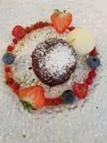 Deserto do fondue imagem de stock royalty free