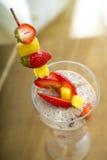 Deserto do fruto fotografia de stock