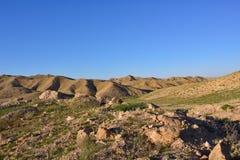 Deserto do Negev Imagens de Stock