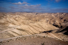 Deserto do Negev em Israel Foto de Stock Royalty Free