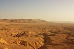Deserto do Negev, Israel Imagens de Stock