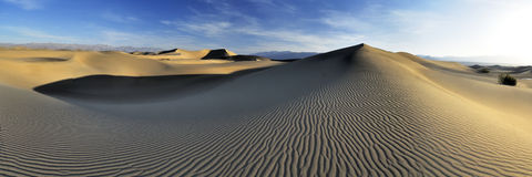 Deserto do panorama Imagens de Stock Royalty Free