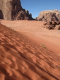 Deserto do rum do barranco Imagem de Stock