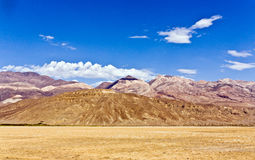 Deserto do vale de Panamint Imagem de Stock