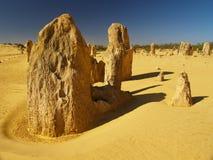 Deserto dos pináculos Imagem de Stock