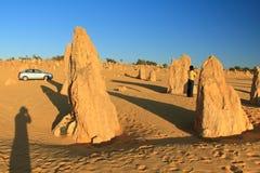 Deserto dos pináculos, Austrália Ocidental imagem de stock royalty free