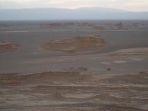 Deserto dourado de Kalut Imagem de Stock